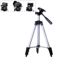 Wholesale Stands For Digital Cameras - 3110A Camera Tripod Lightweight Flexible Portable Digital Single Lens Reflex Tripod Stand for Sony Canon Kikon with Packaging
