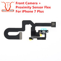 Wholesale Smaller Camera - For Apple iPhone 7 Plus 5.5 Inch ORIGINAL Front Camera Module with Proximity Sensor Light Flex Small Cam for 7P 5.5""