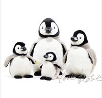 Wholesale Happy Feet Plush - Wholesale-2016 Free shipping Plush Penguin Doll Happy Feet Emperor Penguin Plush Toys Holiday gifts Stuffed & Plush Animals