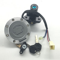 Wholesale R1 Gas Cap - Motorcycle Ignition Switch Fuel Gas Cap Seat Lock Key Set For Yamaha YZF-R1 2002-2003 R6 2003-2006 MT03 2006-2012 MT09 2013-2016