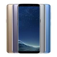 мобильные телефоны samsung оптовых-Оригинальный Samsung Galaxy S8 S8 Plus разблокированный сотовый телефон RAM 4GB ROM 64GB / 128GB Android 7.0 5.8