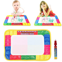 kinder doodle board großhandel-Zeichnung Wasser Stift Malerei Zeichnung schreiben Magic Doodle Aquadoodle Mat Board Kid Boy Girl Toy Geschenk