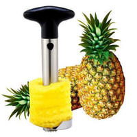 Wholesale Creative Stainless Steel Fruit Pineapple Corer Pineapple Slicers Kitchen Tools Pineapple Peeler Parer Knife CCA6460