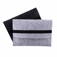 Wholesale VBESLIFE New inch Fashionable Felt Laptop Sleeve Case Anti scratch Cover Bag For Macbook Protector Case Cover