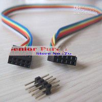 Wholesale Usb Atx Case - Wholesale- 1 piece ATX case Internal Motherboard mainboard host case USB male to female Extension Cable 8p retail wholesale