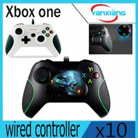 For Xbox One for Xbox One Shock 10pcs USB Wired Game Controller for Xbox one, Best replacement gaming Joystick Game Pad for Xbox One PC YX-OEN-03