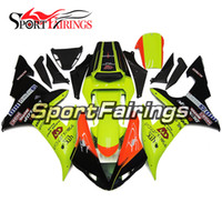 Wholesale R1 Orange Fairings - Fairings For Yamaha YZF 1000 YZF R1 02 03 2002 2003 ABS Motorcycle Body Kit Bodywork Motorbike Covers Green Orange Black Carenes New