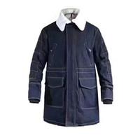 Wholesale Waterproof Winter Jackets For Men - M6602 Luxury Mon Brand Jacket real raccoon parkas for men winter men goose Down Parkas femal anorak men Denim splicing material coats jacket