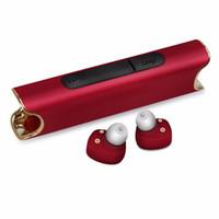 ipx7 bluetooth оптовых-S2 TWS Близнецы Bluetooth наушники IPX7 водонепроницаемый мини наушники Наушники Наушники с зарядкой док-станция для универсальных телефонов