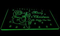 LD009 - gMerry-Christmas-Neon-Light-Sign Decor Livraison gratuite Dropshipping Vente en gros 6 couleurs à choisir