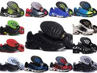 ingrosso basket scarpe a buon mercato-Commercio all'ingrosso 2019 TN PLUS Mens Sneakers di moda originali TN AIR ShOes Vendite TOP Quality Economici Francia BASKET TN REQUIN ChauSSures Taglia 40-46