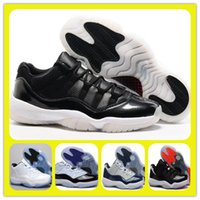Wholesale Glitter Shop - Wholesale Low Cut Retro 11 XI 72-10 Legend blue Bred Basketball Shoes Mens Sports Shoes Online Shop Store Athletic Dropping Trainers Boots