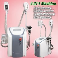 Wholesale Special Therapy - big promotion! Special price fat freeze machine protable cool therapy vacuum cavitation rf lipolaser body slimming machine