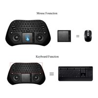 Wholesale Measy Wireless Remote - Measy GP800 Portable Handheld Ultra Mini QWERTY 79 Keys Tochpad Remote Control 2.4GHz Wireless Keyboard Air Smart Mouse Mice C2127
