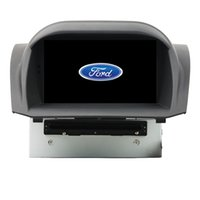 Wholesale Stereo Ford Fiesta - Fit for FORD fIESTA 2013 Android 5.1.1 OS 1024*600 HD car dvd player gps radio 3G wifi bluetooth dvr OBD2 FREE MAP CAMERA with canbus