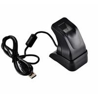 leitor de impressões digitais usb venda por atacado-Topcartool Leitor de Impressões Digitais USB Scanner Sensor ZKT ZK4500 para Computador PC Home Office ZK4500 Fingerprint captura leitor sensor de dedo