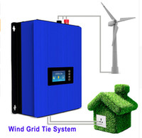 Wholesale Inverter Tie Wind - 1000W Wind Power Grid Tie Inverter with Dump Load Controller Resistor for 3 Phase 24v 48v wind turbine generator