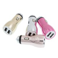 Dual USB Car Charger Alta qualidade Emergency Hammer Car Charger para iPhone 7 Galaxy S7 para iPad Celular 50pcs / up