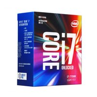 Wholesale Cpu Processor I7 - Original Intel Core i7 7700K Processor 4.20GHz 8MB Cache Quad Core Socket LGA 1151 Quad-Core Desktop I7-7700 CPU Better Than i5