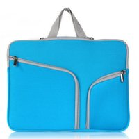 Wholesale Laptop Carry Bags - 13 inch 15 inch Laptop Portable Felt Carrying Protective Sleeve Bag For Laptop Suitable Ipad Air Macbook Sleeve DHL PCC053