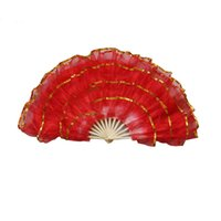 Wholesale Belly Dance Gifts - Four Layers of Phnom Penh Dance Fan Square Dancing Props Wedding Party Gift Decoration Belly Dance Performance Gift ZA3101