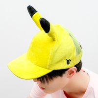 Wholesale Anime Elf Ears - 2017 hot elf ears adorable cartoon mouse yellow pickup system peaked cap