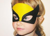 1000 teile / los 108 Arten Kinder Halloween Cosplay Maske Party Maskerade Filz Dekoration Maske Superhero Cape Leistung film Maske party pack