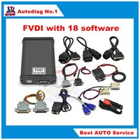 Wholesale Diagnostic Vag German - 2017 FVDI ABRITES Commander Full Version with 18 software activated for VAG for BMW Opel Toyota Ford etc 18 software stock