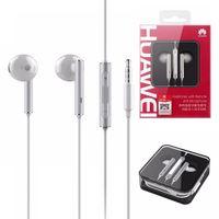 Wholesale Huawei Headphones - HUAWEI AM116 Earphone P8 p9 Lite In-ear Metal Headphones With Mic Remote Control For huawei p7 p8 p9 mate7 mate8 mates