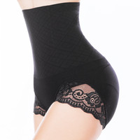 Wholesale Sexy Butt Lifter Tummy Control Panties Waist Training Corset Women Body Shapers Lace Trim Belly Hip High Waist Trainer Shapewear