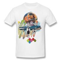 modernes outdoor-gewebe großhandel-Globale moderne Trend Männer T-Shirt im Freien Sommer Herbst Baumwolle Tshirt gemütliche Stoff Unterstützung Drop Shipping maßgeschneiderte Shirt
