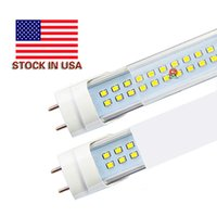 Wholesale Free Tax - Stock In USA + 4ft led tube 22W 25W 28W free shipping T8 1.2m Led Lights Tubes AC 85-265V No Tax Fee