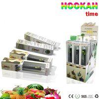 Wholesale Taste Tips - Disposable 280mAh E-hookah Portable E Shisha 800 Puffs Metal Tip E-hookah E-shisha E cig 10 Fruit taste Vapor Pen