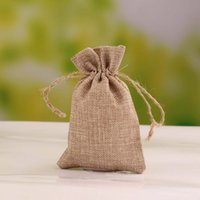 Wholesale Wedding Favors Drawstring Bags - Wholesale-Jewelry Pouches Velvet Gift Bags Drawstring Burlap Bags For Wedding Party Favors (more colors)