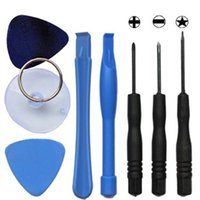 Wholesale High Quality Screwdriver Set - High Quality 8 in 1 Opening Tool Screwdriver Sucker Pry Repair Opening tools kits set for iPhone 4 4s 5G 5S 5C 6 6Plus free shipping