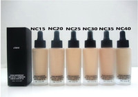 Wholesale dryer pa - HOT NEW makeup STUDIO WATERWEIGHT SPF PA FOUNDATION ML