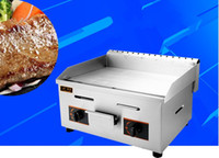 Wholesale Commercial Gas Griddle Flat pan Griddles Gas Flat Griddle Stainless Steel Restaurant Frying Equipment LLFA