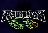 "Wholesale Neon Sign Eagles - Eagle Hawk Neon Sign Custom Handmade Real Glass Tube Store Sport Bar KTV Club Pub Gameroom Advertising Display Decoration Neon Signs 17""X8"""