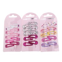 Wholesale Side Makers - Wholesale- 2017 hair clip hairpin side-knotted Barrettes hair maker tools 3cm mini small clip Hair accessories wholesale