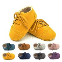 Wholesale Top Baby Prewalker Shoes - Baby kids First Walkers Infants soft bottom Anti-skid Shoes Autumn Toddler shoes Prewalker Baby shoes top quality
