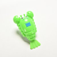 Atacado 1PCS Hot Selling Random Color Swimming Camarão Lobster Clockwork Brinquedos Baby Kids Mini Animal Bath Toy