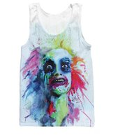 Wholesale Men S Attire - New Arrive Fashion Clothes Shirt killer Beetlejuice Tank Top Sexy Tanks attire vibrant Vest For Women Men