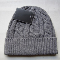 Wholesale Fall Knitting Patterns - Brand style hat knitting hats winter warm beanies for unisex women men P pattern