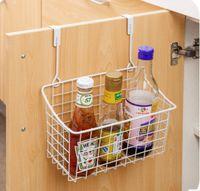 Wholesale Single Sink Cabinet - hot sale Cute Kitchen Cabinet Portable Hanging basket Bathroom Shelves Basket Bath Storage Gadget Basket Bath Storage Tools Sink Holder