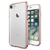 Wholesale Note Neo Hybrid Case - Spigen Neo Hybrid Crystal Clear Cases For Iphone 7 7Plus 6S Plus S7 Edge Note 5 A9 LG G5 TPU+PC 2 In 1