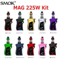Wholesale Princes Gold - Authentic SMOK MAG Starter Kits 225W TC Box Mod With 8Ml TFV12 Prince Tank Atomizer Coil Kit 9 Colors 100% Genuine SmokTech