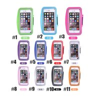 Wholesale Iphone 4s Lighting Case - For Iphone 7 7plus Waterproof Sports Running Armband Case For iphone 6plus Workout Armband Holder Pounch For iphone 4 4S 5 5G 5C 5S 6 6S 6S