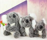 Wholesale Cute Koala Bears - Cute koala plush toys doll 13cm stuffed animals koala bear lovely kids Plush Toys Kids Birthday Gifts