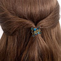 Wholesale Butterfly Clips For Hair - Fashion Women hair accessories hairpins Crab Retro Mini Butterfly hair claw clip Headband for Lady Girls 2017 Hot Sale