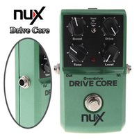 Wholesale Nux Core Pedals - Mini NUX Drive Core Pedal Electric Effect Pedal Mixture of Boost and Overdrive Sound True Bypass Guitar Parts & Accessories